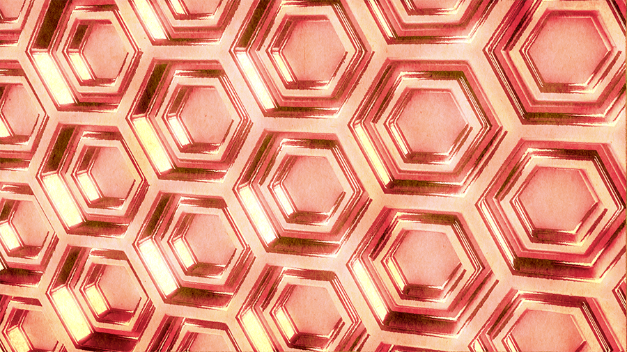Create a Hexagonal Mesh with the Honeycomb Array Cloner