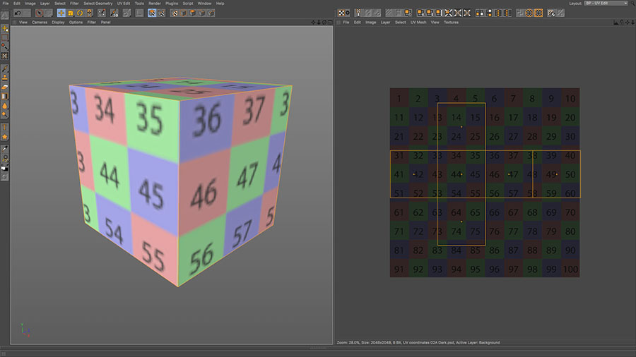 Packaging Design: UV Unwrapping - Part 1 How to Unwrap a cube