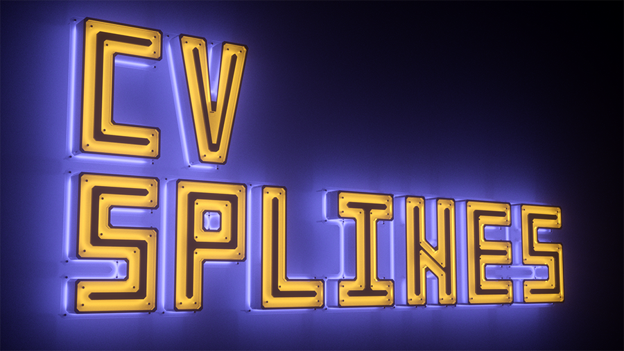 CV-Splines to Objects