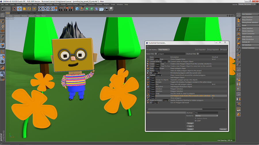 A Cinema 4D Primer for Maya Artists: Customizing Your Workspace