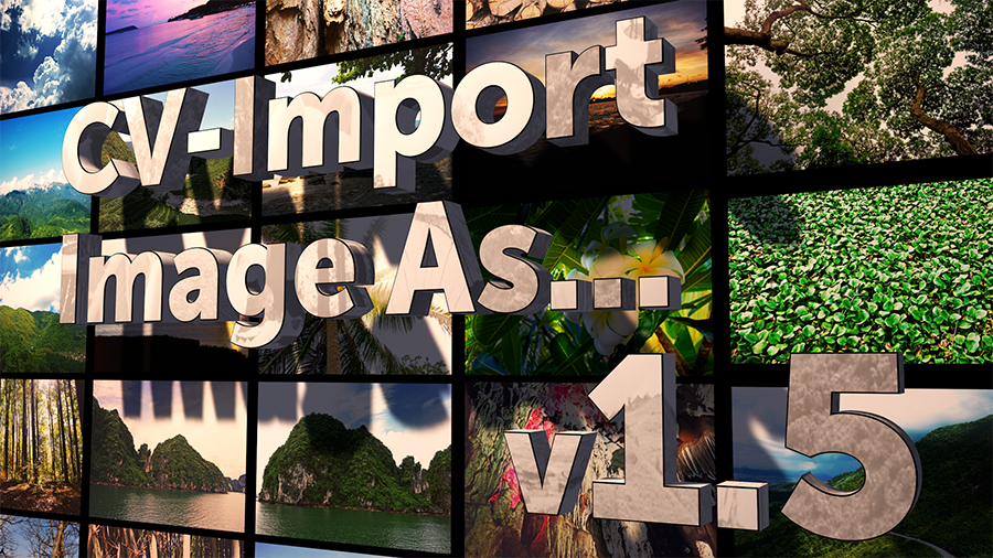 CV-Import Image As