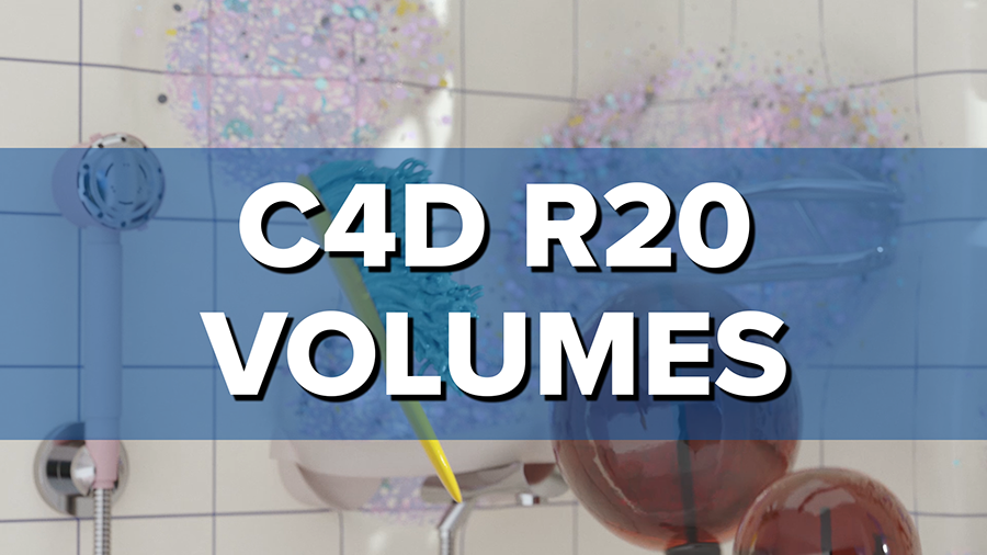 New in Cinema 4D R20: Volumetric Workflow - VDB Introduction