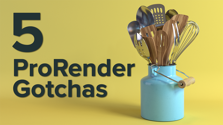 5 Gotchas to Avoid in Cinema 4D R19 ProRender
